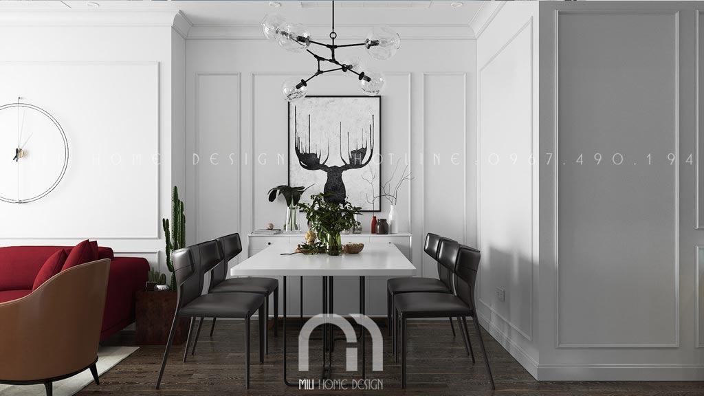 Phong cách thiết kế nội thất Scandinavian. Liên hệ thiết kế nội thất: 0967490194