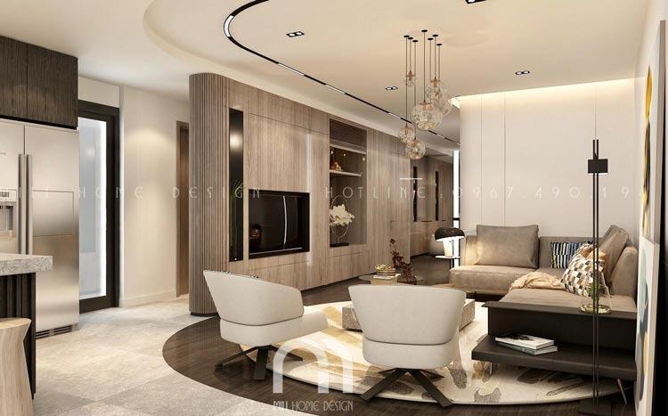 Thiết kế nội thất căn hộ chung cư Legacy